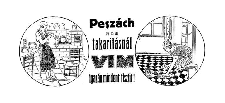 Peszáchi forgatagban a háború előtti Budapesten