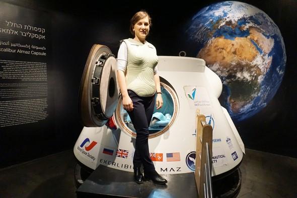 Izraeli űrruha tesztelésébe kezdett a NASA