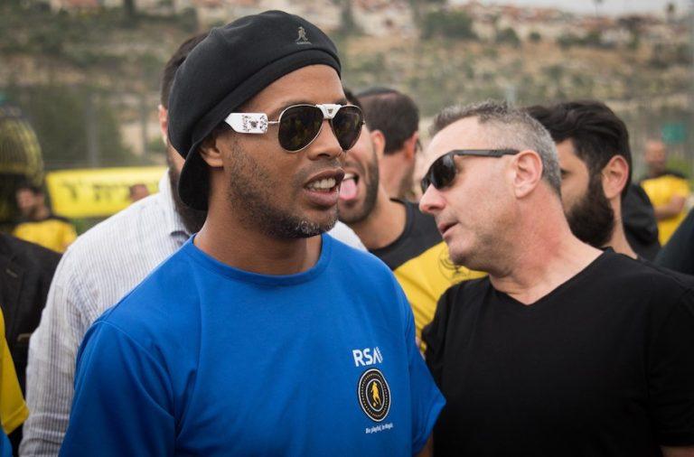 Izraelben alapít futballakadémiát Ronaldinho