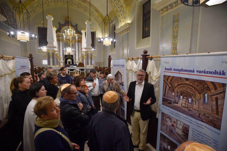 A Múzeumok éjszakáján a zsinagógák sem alszanak