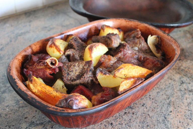 Kóser gasztro: római tál marhahússal és füstölt pulykacombbal