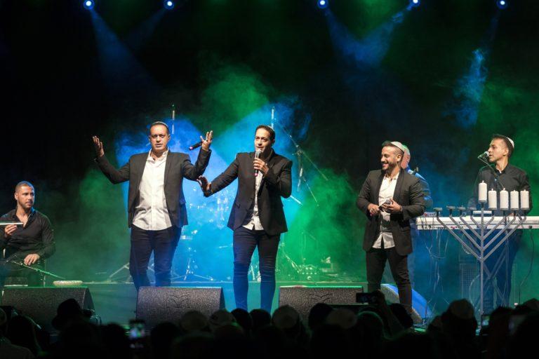 Budapesten adott koncertet a népszerű izraeli zenekar, a The Revivo Project