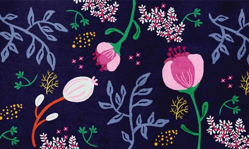 Az ünnep kellékei: virágdísz