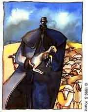 Pásztor és bárány
