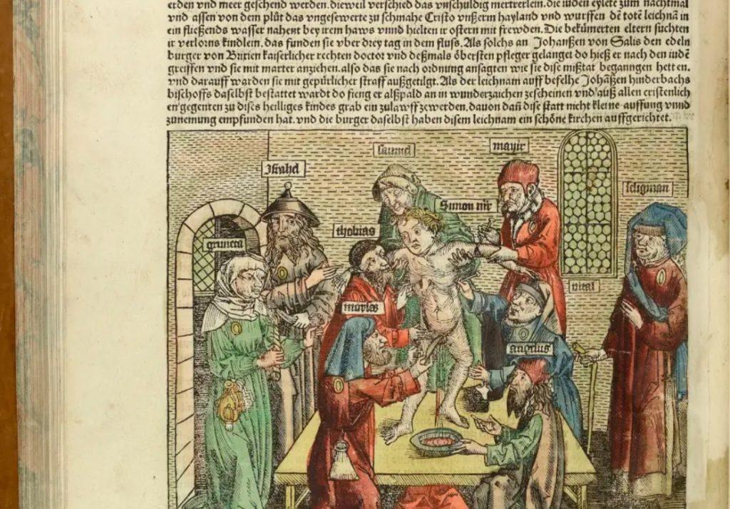 Antiszemita vérvád: a középkori fake news