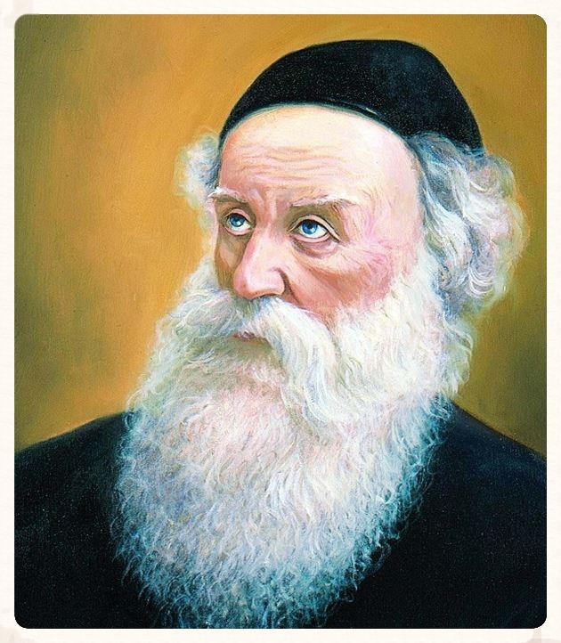 Az Álter Rebbe születésének története