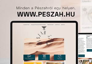 Végre egy oldal, ahol minden, a Pészách ünnepével kapcsolatos információt megtalálsz!