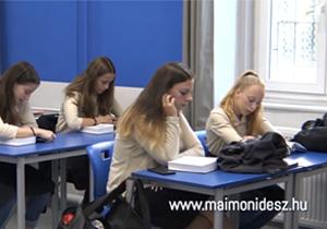 Online nyílt nap a Maimonidész Gimnáziumban szeptember 30-án