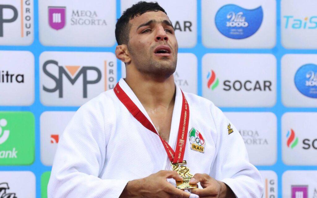 Izraelben versenyez az Iránból elüldözött cselgáncs világbajnok