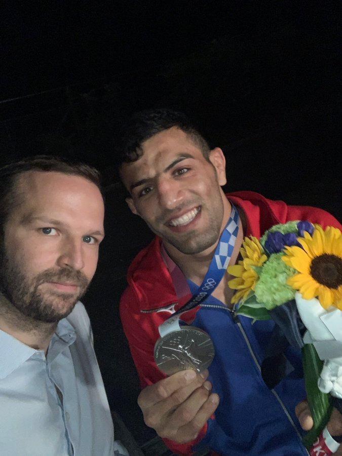 Izraelnek is ajánlotta olimpiai ezüstérmét az iráni rezsim elől elmenekült dzsúdós