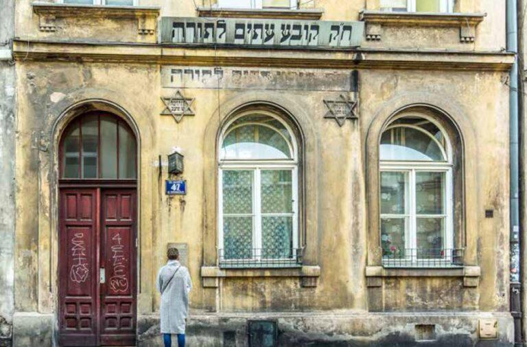 """Az """"örök zsidó"""" Krakkóban"""