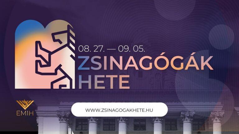 Zsinagógák Hete: megnyitók és mulatságok fővárosszerte