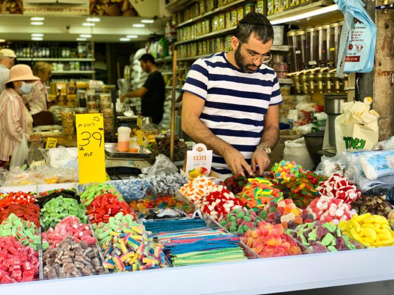 A Machane Yehuda piac két arca