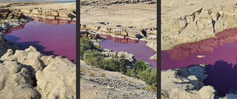 Bréking: mégis isteni jel a vörösre változott víz?