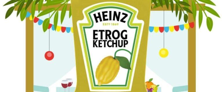 Etrog ízű ketchuppal rukkolt elő a Heinz