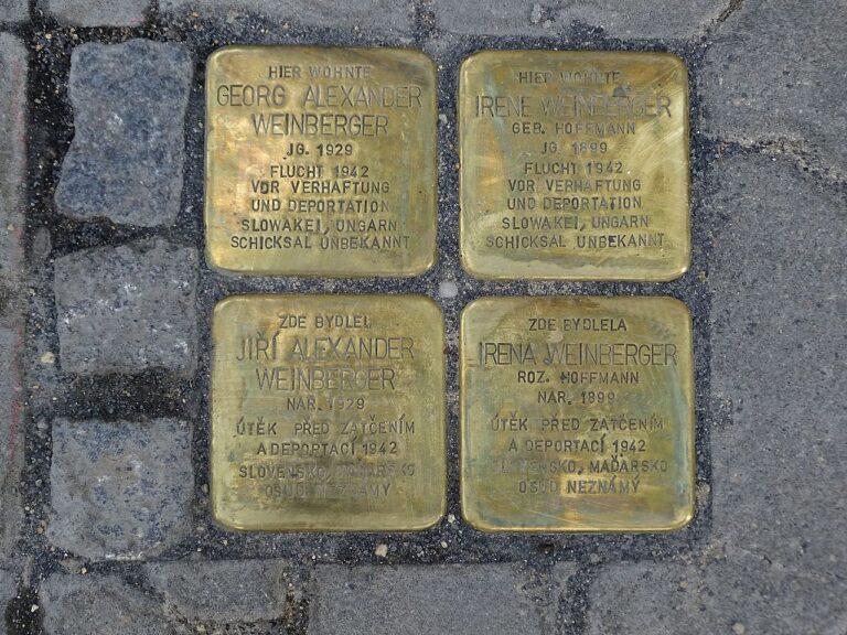 Könyv készül a prágai botlatókövekről