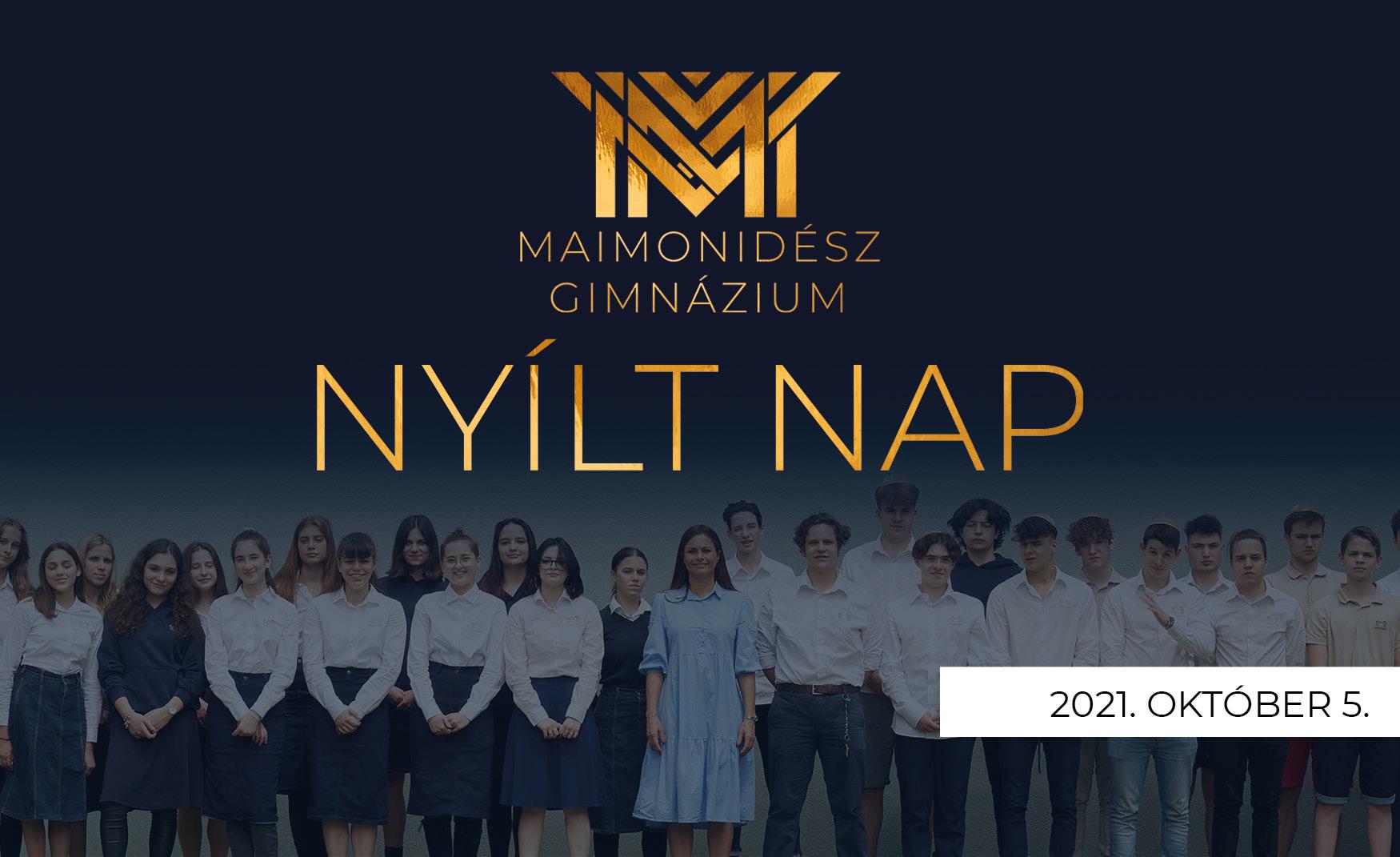 Maimonidész Gimnázium Nyílnap 2021