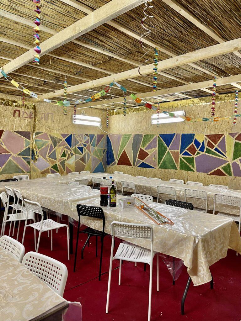 A béke sátra: két közösség ünnepelt a ZSILIP szukkájában