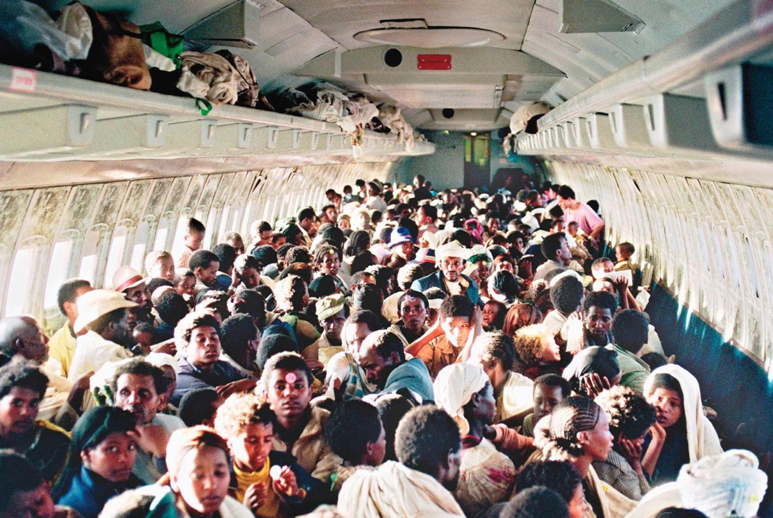 Az etióp zsidók útja szülőhazájukból a modern Izraelig