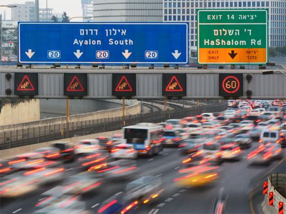 Kompokkal enyhítenék a közlekedési dugókat Izraelben