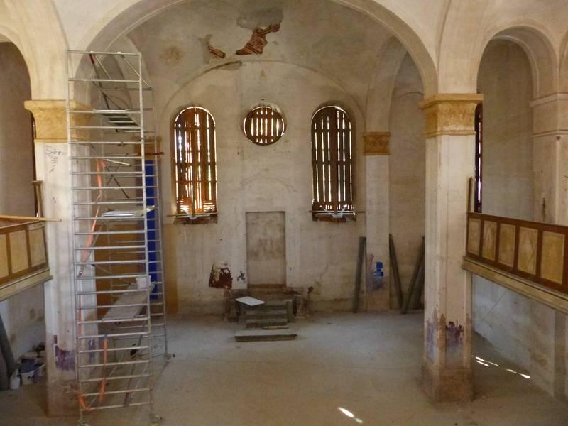 Elkezdődött az egykori kaboldi zsinagóga felújítása