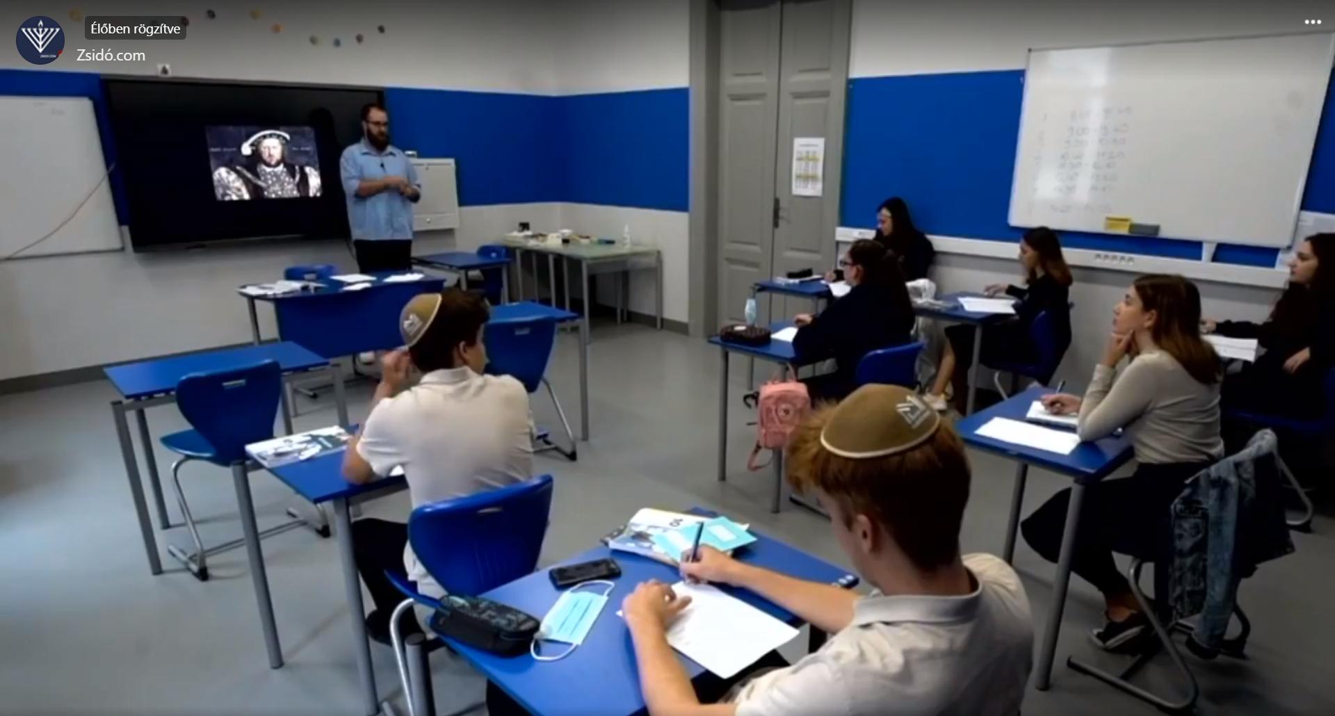 Különleges és igen sikeres volt az őszi nyílt nap a Maimonidész Gimnáziumban