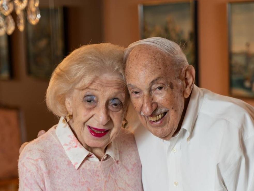 Nem mindennapi évforduló: egy 100 éves pár 80 éves házassága