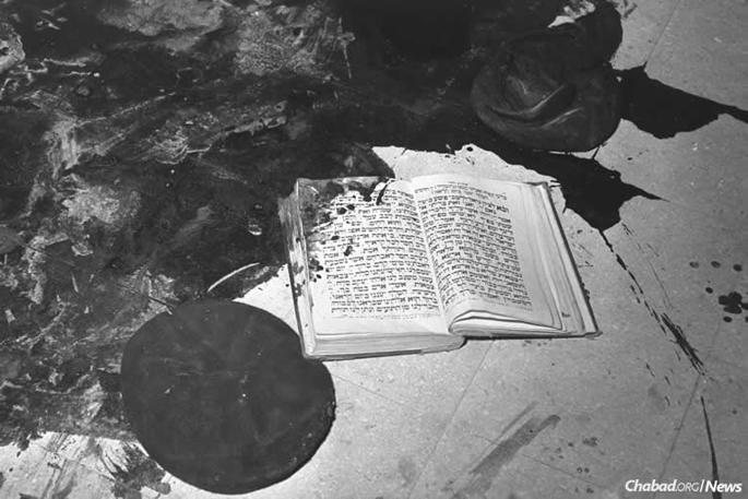 A Chábád falu elleni támadás emléke
