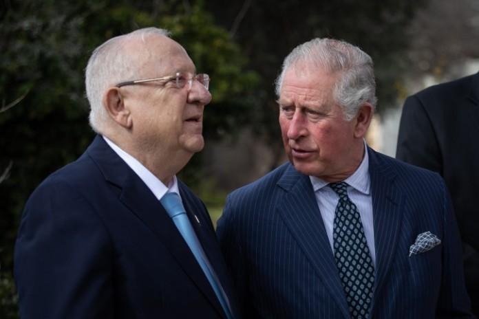 Rivlin elnök Károly herceg segítségét kérte